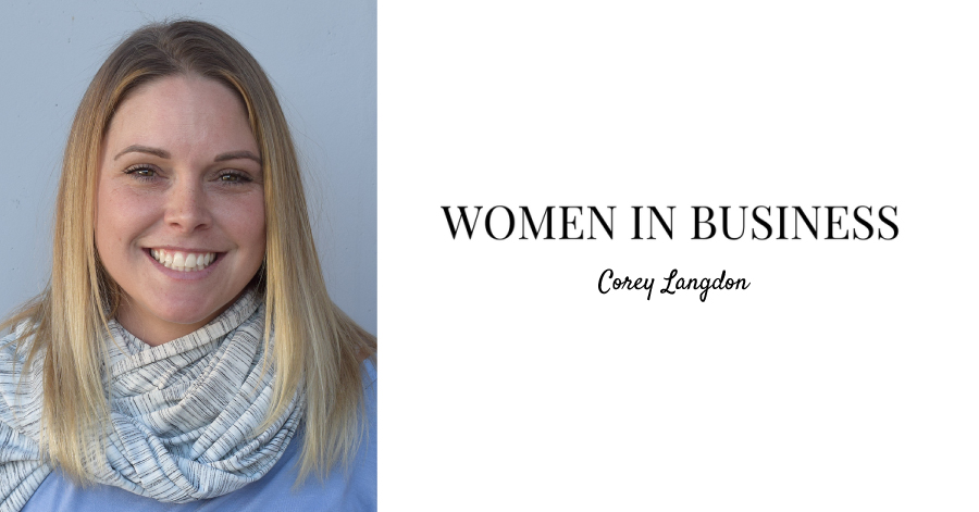 Women in Business: Corey Langdon