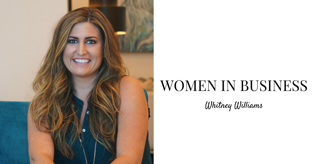 Women In Business: Whitney Williams