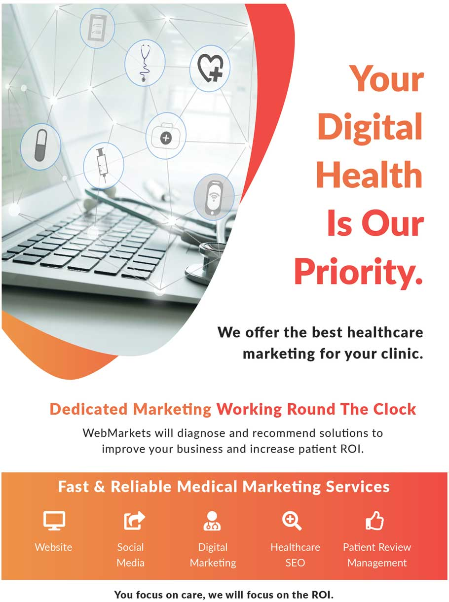 medical digital marketing medical web design seo